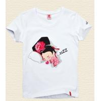 Buy cheap Scoop Neck 100% Cotton Custom Logo T Shirts With Pocket On The Front 160g - 258g from wholesalers