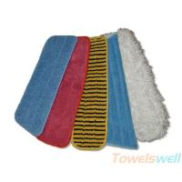 Buy cheap Professional Velcro Backed Microfiber Mop  Cleaning Mop Head microfiber mops from wholesalers