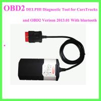 China DELPHI Diagnostic Tool for CarsTrucks and OBD2 Verison 2013.01 With bluetooth on sale