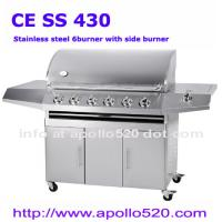 Buy cheap 6 Burners BBQ Grill Cart from wholesalers