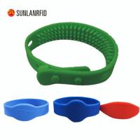 Buy cheap free sample 125KHZ RFID silicone wristbands with logo from wholesalers