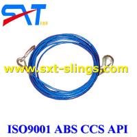 Buy cheap galvanized steel wire rope slings  with multi layers 6*36WS+IWR from wholesalers