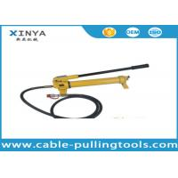 Buy cheap Model CP-700 Hydraulic Hand Pump For Hydraulic Cylinder 700bar 1000Psi from wholesalers