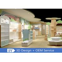Buy cheap Lovely Easy Install Dis-Assembly Kids Clothing Store Furniture With Led Lighting from wholesalers