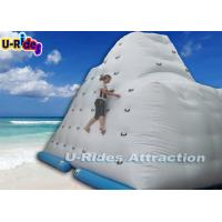 Buy cheap 4.2 M Height Inflatable Rock Climbing Wall Rentals / Large Kids Inflatable Water Toys from wholesalers