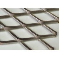 Buy cheap 3mm Thickness Flat type Galvanized Steel Expanded Metal Mesh For Walkway from wholesalers