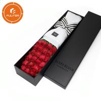Buy cheap Custom Fashion High End Long Stem Gift Flower Packaging Box With Logo from wholesalers