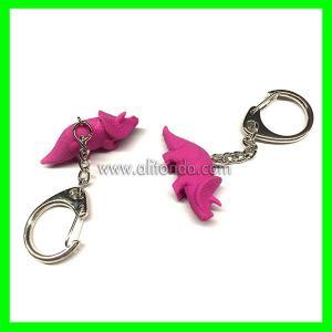 China Dinosour shape keychains custom promotional gifts animal keychains supply on sale