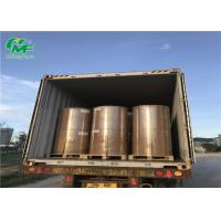 China Offset Printing Jumbo Wrapping Paper Rolls Single Side Coating With Pallet Packing on sale