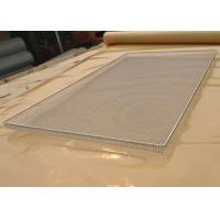 Buy cheap Food Grade Wire Mesh Tray For Vegetable Dehydration , Corrosion Resistant from wholesalers