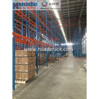Buy cheap Selective Pallet Racking System, Double depth  for Pallet Storage from China SS400 material from wholesalers