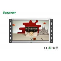China Wall Mounted Open Frame LCD Display , 4G Optional Open Frame Touch Screen Monitor on sale