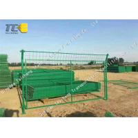 Buy cheap Cold Galvanized Iron Barbed Wire Mesh Chain Link Fence For Railway / Highway from wholesalers