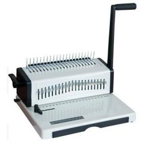 China CB Type Plastic comb binding machine on sale