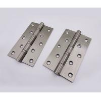 China 5 x 3 x 3.0mm 4BB Ball Bearing Stainless Steel 201 Butt Hinge For Wooden Door on sale