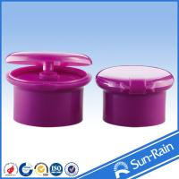 Buy cheap Non spill plastic cap shampoo flip top bottle cap for cosmetic packaging from wholesalers