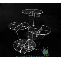 Buy cheap CD (22) wedding cake stand crystal product
