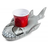 Buy cheap PVC Shark Pool Cupholder Floats Inflatable Drink Holder Pool Party Bath Toys from wholesalers