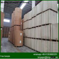 Buy cheap Hot sell 150 157 170gsm Art Paper Producers from wholesalers