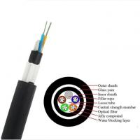 Buy cheap GYTY53 Fiber Cable/ GYFTY73 Underground Optical Fiber Cable With Anti-biting Protection/ GYTA53 Underground Fiber Optic product