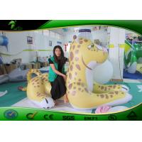 Buy cheap PVC Yellow Inflatable Leopard Blow Up Model UV Digital Printing from wholesalers