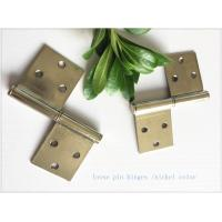 Buy cheap Brass Bp Colorheavy Duty Lift Off Hinges , Lift Off Door Hinges Removable Type from wholesalers