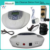 Buy cheap free infrared wasit band foot spa machine ion cleanse detox from wholesalers