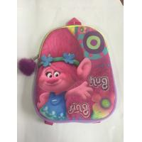 Buy cheap Personalized Trolls kids scholl bag for teenage boys , plush material product