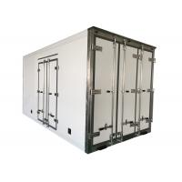 Buy cheap Sandwich Structure Refrigerated Lorry Body / Fridge Truck Body Customized from wholesalers