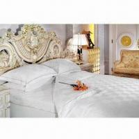Buy cheap Hotel Bedding Set, Includes Bed Sheet/Fitted Sheet/Quilt Cover/Pillow Cover from wholesalers