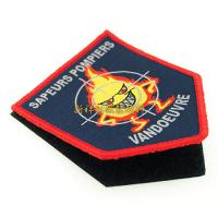 Fashion Custom Woven Patches For Garment / Hats / Bags / Jeans Decorative