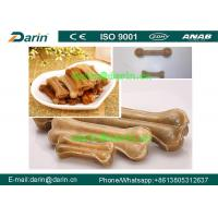 Buy cheap Customized Native color Pressed Rawhide Bones dog chews Machine from wholesalers