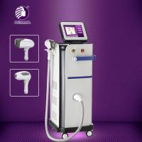 Buy cheap Fiber Coupled Facial Diode Laser Hair Removal Machine Humaized Bend Design 13 * 13mm2 Size Spot from wholesalers