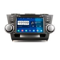 Buy cheap 8 2DIN HD android car dvd android 4.4.4 HD 1024*600 car DVD GPS for TOYOTA Hilghander with WiFi Mirror link from wholesalers