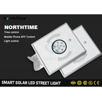 Buy cheap Warm White All In One Solar Street Light Auto - Sensing Power Battery from wholesalers