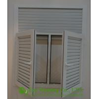 Buy cheap UPVC Shutter Casement Windows, Fixed or Operable Louvered Casement window from China from wholesalers