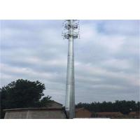 Buy cheap Self Supporting Outdoor Antenna Tower , 50 Meter Home Radio Tower 20 Elongation from wholesalers