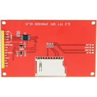 Buy cheap Ili9488 Driver Lcd Touch Display Module 3.5 Inch Spi 320x240 Panel With Card Slot from wholesalers
