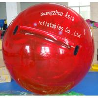 Buy cheap Red Colour Commercial Grade Inflatable Water Ball for Kids Inflatable Pools from wholesalers