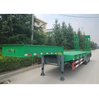 Buy cheap 3 Axles 60 Ton Swan Neck Low Bed Semi Trailer from wholesalers