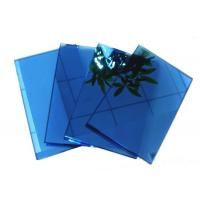 Buy cheap Blue , grey , pink Coloured Reflective Glass Sheet for Commercial Buildings from wholesalers
