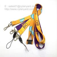 Buy cheap Tailored screen print polyester neck ribbon factory wholesaler in China product