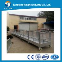 Buy cheap counter weight suspended platform / temporary suspended cradle / supended scaffold from wholesalers