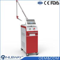 Buy cheap Korea imported 7 joints guiding arm Nubway Q-switched Nd yag laser tattoo removal Anti-aging beauty machine from wholesalers