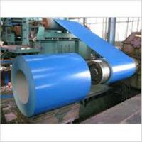 Buy cheap Color Coated Painted Steel Coil Corrosion Resistance EN10327 DX51D+AZ from wholesalers