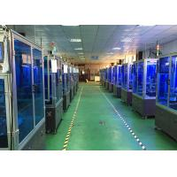 Precision Automated Assembly Process Line For Tire Cap / Aluminum Alloy Valve Cap Assembly