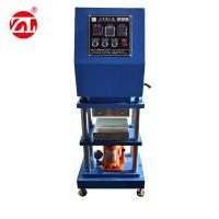 Buy cheap Lab Manual Type Small Rubber Platen Vulcanizing Press Equipment from wholesalers