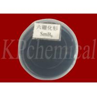 Buy cheap Black Samarium Boride SmB6 CAS 12008-30-9 For Chemical Valence Fluctuation from wholesalers