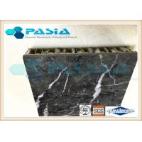 Buy cheap Lightweight Stone Aluminum Honeycomb Panel With Marble Stone Veneer Anti - Pollution from wholesalers