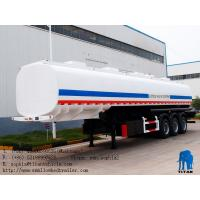 Buy cheap 45000 liters ~60000liters carbon steel fuel tank semi trailer  | Titan Vehicle from wholesalers